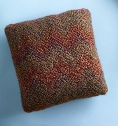 Zig Zag Pillow Pattern (Crochet)