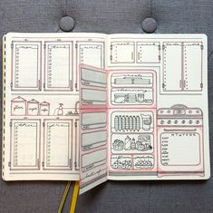 Everything You Need to Know About Dutch Door Weekly Spreads – – Bianca – Bullet Journal Bullet Journal Inspo, Bullet Journal 2019, Bullet Journal Notebook, Bullet Journal Aesthetic, Bullet Journal Themes, Bullet Journal Spread, Bullet Journal Layout, Bullet Journal Reading Log, Ideas Scrapbook
