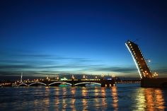 Drawbridge, Saint Petersburg, Russia