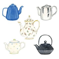 Rie Designed Sketch A Day, Doodle Sketch, Teapots, Doodles, Sketches, Creative, Artist, Painting, Inspiration