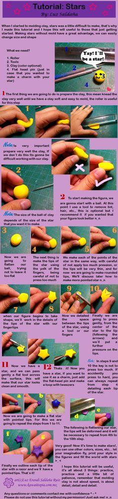 tutorial 2 stars by Sarudanya.deviantart.com on @deviantART
