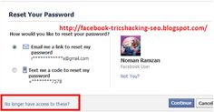 Latest Trick 2013 How to The Hack Your Friend's Facebook Account By Trusted Friend Hack Facebook, Free Facebook, Facebook Profile, Free Password, Hack Password, Hack Online, Seo Tips, Text Me, Accounting