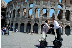 Wedding day at Colosseo with Segway Rome