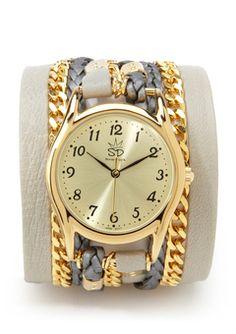 Funky watch.