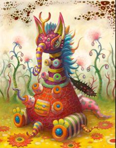 Yoko d'Holbachie/ fantasy creature sketch?