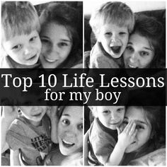 Life Lessons for Boys