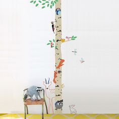into-the-wood-sticker-multicoloured