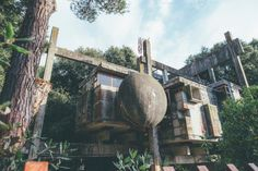 Casa Sperimentale Perugini a Fregene | The special tree house in Fregene (Rome) was an experimental project conceived by Giuseppe Perugini, Raynaldo Perugini and Uga De Plaisant in the late 60s.