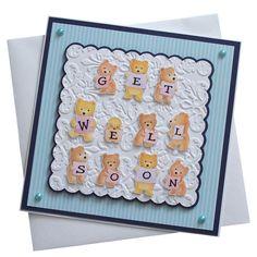 Handmade Get Well Soon Card £1.80