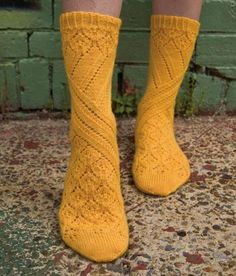 awesome golden socks.  these would be cool as knee socks too