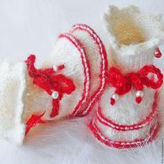Купить Подарок для новорожденной пинетки для девочки Babyschuhe von Frau Stil - пинетки для девочки