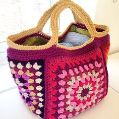 I have to make a crochet bag one day