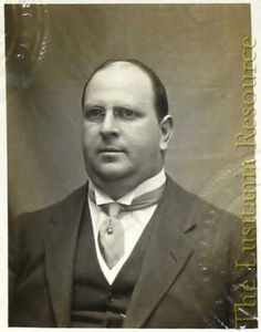 Isaac Lehmann (1879-1915), New York businessman and Lusitania passenger.