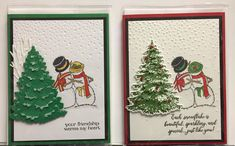Christmas Snowman, Christmas Cards, Snow Men, Snowman Cards, Brusho, Paper Pumpkin, Embossing Folder, Stampin Up Cards, Snowflakes