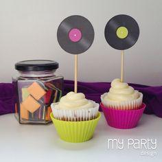 Music Party Printable Circles, via Flickr.