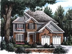 Eplans Colonial House Plan - All the Amenities You Desire - 2199 Square Feet and 4 Bedrooms from Eplans - House Plan Code HWEPL08759
