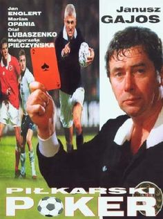 """Pilkarski Poker (aka """"Soccer Poker"""") is a Polish movie  about a referee. Laguna is a former star player who has risen to the top of the referee ranks despite his drinking. A co-op of owners bribes him to make calls that will ensure which team will win the premier league and which will be relegated. But Laguna hasn't taken bribes before, and all is not as it seems. In Polish with English subtitles"""