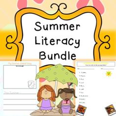 Summer Literacy Bundle, Spelling, Printable, Worksheets, JournalA literacy bundle related to topic of 'Summer' includes the following;* Summer Journal Entry (2 pages)Printable no prep worksheetPupils can draw a picture of what they did in the summer with room to write about it underneath.* Missing Letters Worksheet (2 pages)Printable, no prep worksheetPupils have to work out and filling in the missing letters in the words.* Acrostic Poem (4 pages)Printable, no prep worksheetPupils make poems…