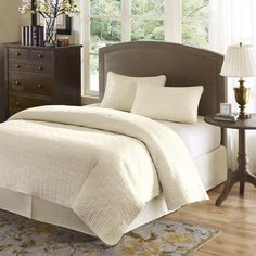 I pinned this Summit Coverlet Set from the Cozy Quilts & Coverlets event at Joss and Main!
