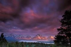 sunrise -Grand Tetons,Wyoming,USA - Bing Images