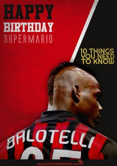 Ten things you did not know about A.C. Milan forward Mario Balotelli - Official READ ON >>> http://bit.ly/1sTpAED