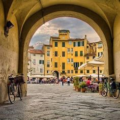Wonderful Lucca, Tuscany www.sognoitaliano.it