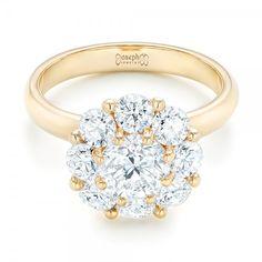 Custom Diamond Engagement Ring #102927
