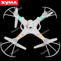 SYMA X5C DIY LCD RC UFO Quadcopter Aircraft 4-Channel 2.4GHz with Six-axis Gyro  2MP Camera http://www.tinydeal.com/syma-x5c-diy-lcd-rc-ufo-quadcopter-4-ch-24ghz-w-gyro-camera-p-126482.html