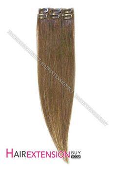 Medium Ash Brown Straight Clip In Highlight Medium Ash Brown, Real Hair Extensions, Highlight, Beauty, Lights, Highlights, Beauty Illustration, Hair Highlights, Halo Highlights