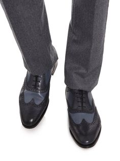 Edward Green for Hardy Amies - Falkirk brogues shoes