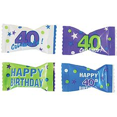 40th Birthday Party Mints