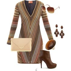 3845f7a565f Love the design in this dress. The colors bring the shoes out.  Arbejdsoutfits