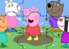 JuegosdePeppa.com - Juego: Rompecabezas Amigos de Peppa Pig Puzzles de Dibujos Online Juegos Peppa Gratis Online