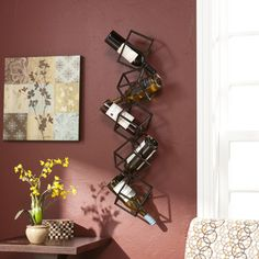 Shop for Harper Blvd Stacking Cube Wall Mounted Wine Rack. Get free shipping at Overstock.com - Your Online Kitchen
