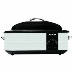 This is the Nesco Roaster that everyone remembers. It's the one that Grandma had at home to cook the turkey at Thanksgiving. It's also one of the most versatile cooking appliances available. It has all the outstanding features of our legendary 18-Quart standard model. For many,... - http://kitchen-dining.bestselleroutlet.net/product-review-for-nesco-nesco-4818-95-18-qt-roaster-oven-18-quart-silverblack/