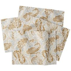 Threshold™ Gilded Ice Paisley Placemats Set of 4