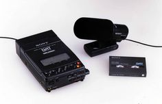 """••WALKMAN 5••1990 – the original portable music device by Sony 1979-07-01 ($150) to 2010-10-25; invented by Andreas Pavel  engineer Nobutoshi Kihara for Sony co-chair Akio Morita; 220M units sold in 31 years vs iPod 2001-11-10 320M+ in 11 years! • wiki: http://en.wikipedia.org/wiki/Walkman • article by The Verge """"The history of the Walkman"""" 2014-07-01 • depicted: Walkman 5 """"TCD-D3"""" 1st portable audio rec/player w/ DAT (digital audio tape) (Sony invented DAT in 1987, 1990 this portable vers.)"""