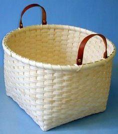 NC Basket Works, free NC Farm Basket Pattern