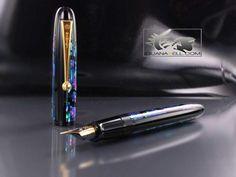 Namiki Yukari Moonlight Raden Fountain Pen