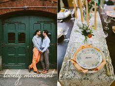 Mr. Blue & Mr. Orange: boda perfecta!  candles, boda gay, decoration, centro de mesa, centerpiece wedding marriage http://petitecandela.blogspot.com.es/2014/01/boda-gay-victoriana-naranjas-azules.html