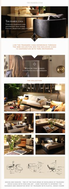 Live the Trussardi Casa experience | Awesome Screenshot
