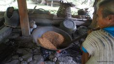 step by step process of traditional rice wine making in Batad Rice Terraces Rice Terraces, Rice Wine, Cultural Experience, Wine Making, Philippines, Traditional, Outdoor Decor, How To Make
