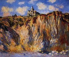 art.is.hard — Claude Monet - The Church at Varengeville, Morning...