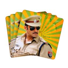 Dabangg Coasters. Grab this at an amazing bargain, only from Bagittoday.com.