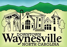 Waynesville NC - Nestled in the Smoky Mountains Along the Blue Ridge Parkway in Beautiful Western North Carolina Blue Ridge Parkway, Blue Ridge Mountains, Great Smoky Mountains, Western North Carolina, County Seat, Our Town, National Forest, Main Street, Day Trip