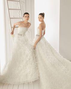 princesses in white