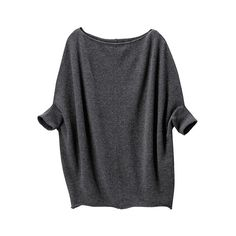 DI Cashmere Dolman Sleeve Sweater ($130) ❤ liked on Polyvore