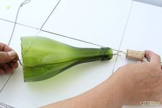 How to Make Wine Bottle Wind Chime: 17 Steps (with Pictures)