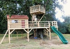 Two Storey Tree House - Miniature Manors