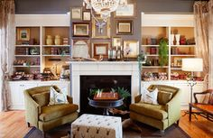 Residential - eclectic - living room - atlanta - by Patrick Heagney Photography